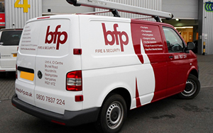BFP vehicle vinyl