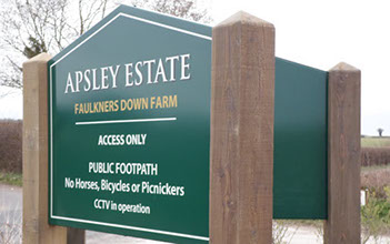 Apsley Estate Sign