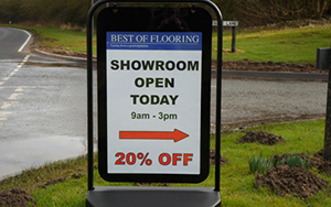 Storm Signs - Portable Displays
